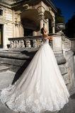 Платье цвета слоновой кости Princess венчания Шампань диаманта