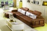 Sofà moderno della mobilia del salone/sofà di cuoio lussuoso (UL-NS371)