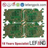 Mehrschichtige 1.2mm 6L V0 OSP industrielle Steuer-Schaltkarte-Leiterplatte