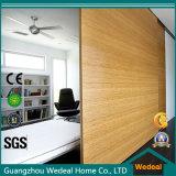 Porte coulissante en bois avec la qualité pour le projet (WDHO10)