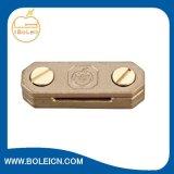Cobre / aluminio de puesta a tierra y protección contra rayos cable soporte de abrazadera