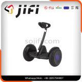 Individu sec de deux roues équilibrant le scooter de mobilité d'E-Scooter de moteur électrique