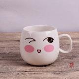 조반 컵 커피 잔 우유 컵 주문 로고 표정 컵