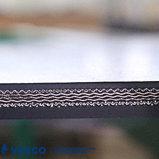 Cinghia trasportatore laterale corrugata