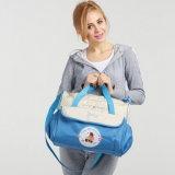 Venda por atacado portátil impermeável Multifunctional ultra grande do volume da mamã da mamã do saco da bolsa do saco de ombro do saco da mamã do bebê