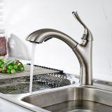 Il bicromato di potassio d'ottone estrae i colpetti del rubinetto del dispersore di cucina