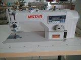 Máquina de coser del punto de cadeneta del mecanismo impulsor directo del ordenador