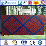 Comitato di alluminio bicolore della parete divisoria