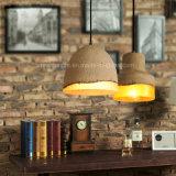 Moderne dekorative hängende konkrete hängende helle Lampe