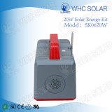Kompletter Solar Energy Systems-Installationssatz des PV-Solarentwurfs-20W