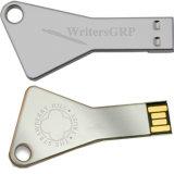 2017 대중적인 금속 키 모양 USB 저속한 Sitck 기억 장치 디스크 펜 드라이브