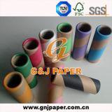 Papel de la fibra de la bobina de la buena calidad para la fabricación de papel de la base