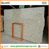 Natürlicher Brasilien-Basisrecheneinheits-Gelb-Granit für Wand-Fußboden-Fliesen