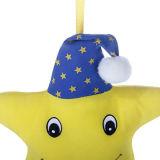 Stuk speelgoed van het Koord van de Trekkracht van de Ster van de Pluche van de Baby van Wholesle het Zachte Muzikale