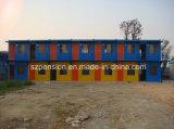 Het Kleurrijke Geprefabriceerde Ontwerp van Peison/Prefab Mobiel Huis