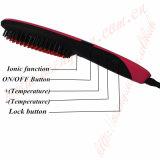 Cepillo de pelo del OEM y enderezadora eléctrica del pelo