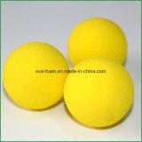 Práctica de interior de EVA de la espuma de la esponja amarilla de las pelotas de golf