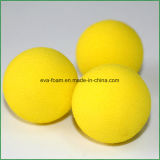 Amarillo de espuma EVA pelotas de golf Esponja interior de la práctica