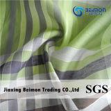 中国の製造業者は12mm 15%Silk 85%Cottonワイシャツファブリックを肋骨停止する