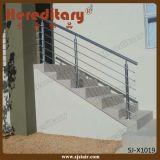 Elegante Fuerte Acero Inoxidable 304 Barandilla de escalera / balaustre (SJ-903)