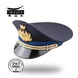 Chapéu principal sênior personalizado da marinha com bordado