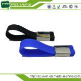 Mecanismo impulsor del flash del USB del bulto del mecanismo impulsor de la pluma de la muñeca del silicón