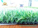 Fio artificial da grama do verde do PE da alta qualidade para a areia de Withoud do jardim