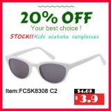 De goedkope Zonnebril van de Acetaat van Jonge geitjes met Cr-39 Lens, Geen MOQ