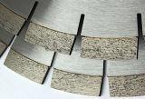 소결된 분단된 다이아몬드는 돌 (젖은 유형)를 위해 톱날을