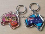 LED Keyring/LED Keychain/Keyring plástico/Keychain/Keyring de encargo/Keychain