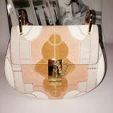 Do mosaico de couro das bolsas de Ltaly Genuien do desenhador sacos 2017 de couro Emg4686