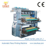 Imprimeur de Flexo de feuille de plastique de couleur de la vitesse 8