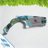 Wristband tejido del paño de la tela para el festival