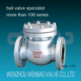 API Carbon Steel Wcb Flanged Swing Check Valve Class300