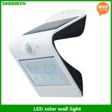 Vendite calde solari del nuovo prodotto & del sensore astute LED della parete dell'indicatore luminoso