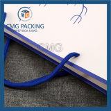 De douane drukte de Witte Zak van het Document van Kraftpapier met de Druk van het Embleem af