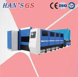 2kw автомат для резки лазера волокна листа металла лазера GS лазера Hans известный