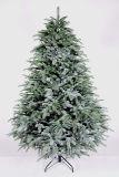 선전용 선물 품목 휴대용 인공적인 백색 LED 소형 크리스마스 나무
