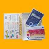 Карточки лоснистых воспитательных карточек нестандартной конструкции бумажные играя