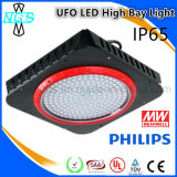 Alto conductor industrial de la luz 150W Philips SMD3030 LED Meanwell de la bahía del LED