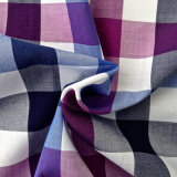 100%Cotton Yarn Dyed Plaid Shirting Fabric (QF13-0217)