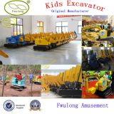 Amusement Park Cheap Mini Excavator pour Children