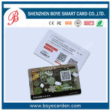 Hot Plastic Card of Clear Material
