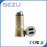 USB all'ingrosso Portable Metal Car Charger di 5V 3.1A Dual per il iPhone e Samsung
