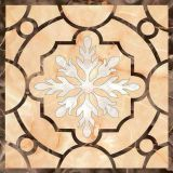 Modèle de marbre naturel Waterjet Custom Design Marble Waterjet Floor