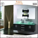 Hahngzhou Soem-amerikanische Art-Doppelt-Bassin-moderne Badezimmer-Eitelkeit (B-8550)
