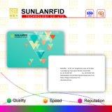 Smart card em branco de RFID T5577 com Barcode