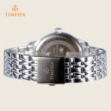 Kundenspezifische Firmenzeichen-Legierungs-wasserdichte Armband-Uhr, Mann-Geschäfts-Armbanduhren 72227
