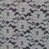 De sexy Stof van het Kant van de Polyester van het Kant van Blace Spande Elastische