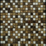 Mixta de piedra de mármol natural del color del mosaico (FYSSC193)